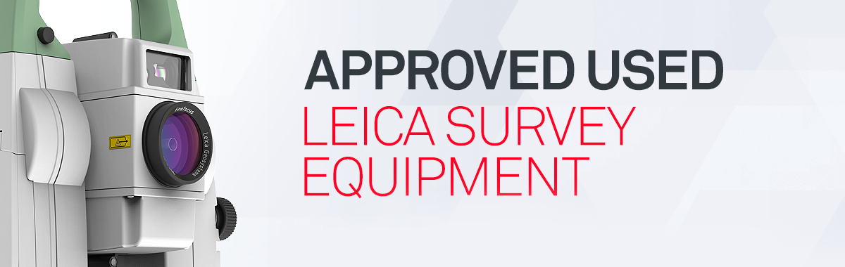 Approved Used Leica Survey Equipment